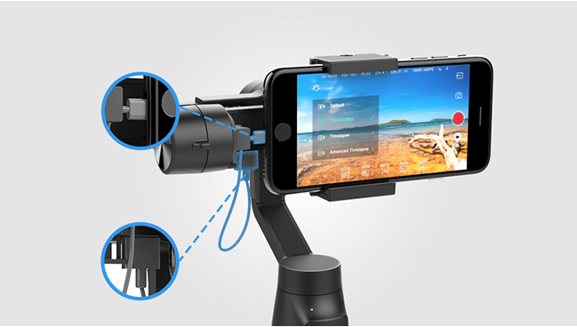 MOZA Mini-MI Smartphone Gimbal | Gudsen Official