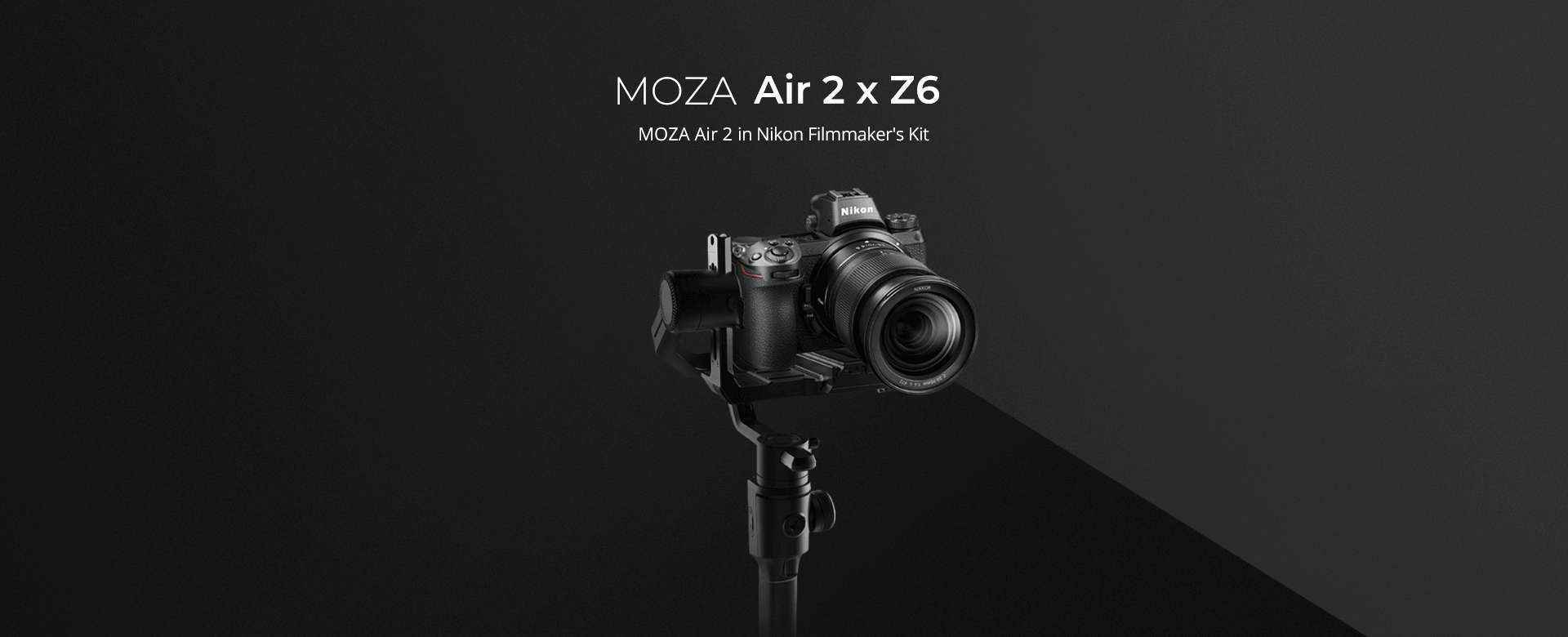 MOZA Air 2 in Nikon Filmmaker's Kit