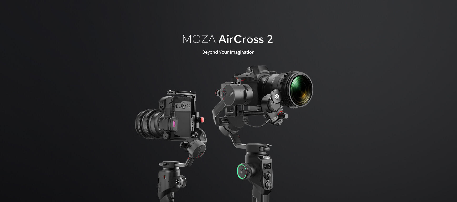MOZA AirCross 2 Beyond Your Imagination