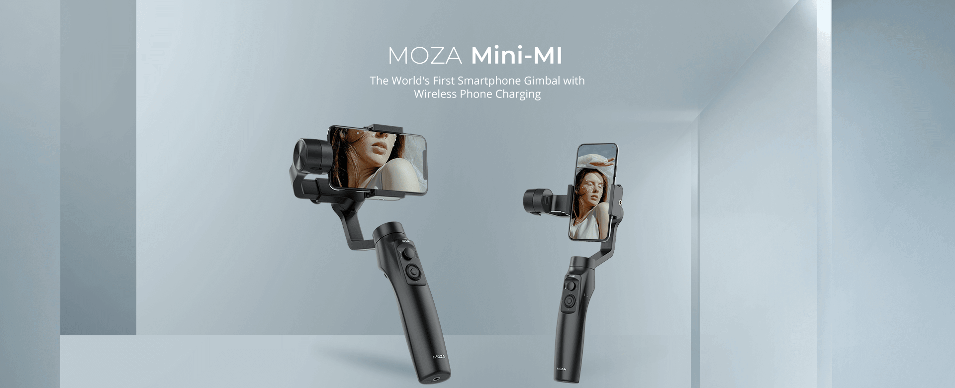 The World's First Smartphone Gimbal with Wireless Phone Charging